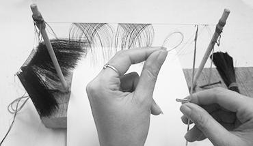 Knitting Regular lashes