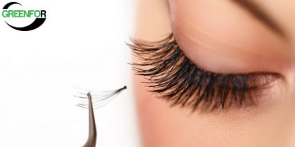 support for the false eyelashes